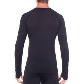 Icebreaker 150 Zone LS Crew Shirt Herre black/mineral